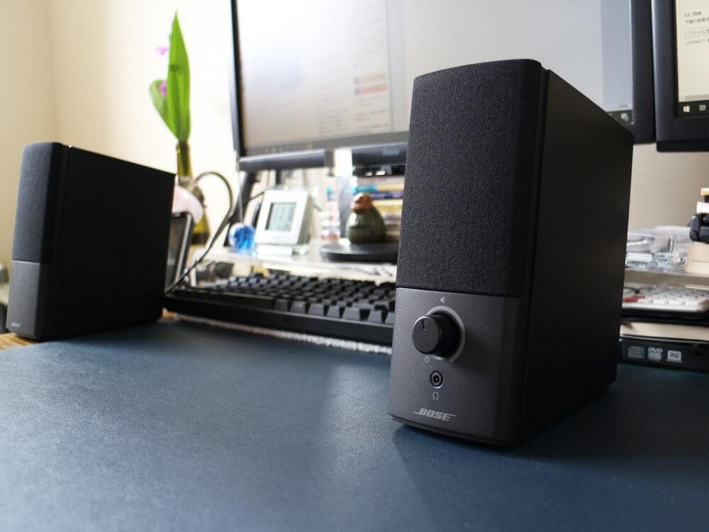 Bose Companion 2 Series IIIは、低音の表現に優れたPC用スピーカー