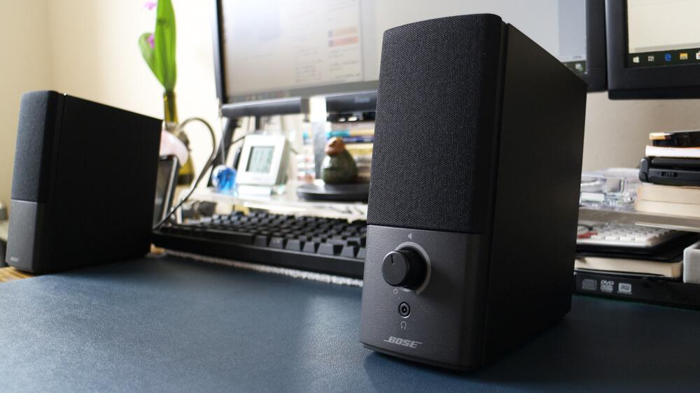 Bose Companion 2 Series III レビュー:臨場感と迫力ある音が楽しめるPCスピーカー