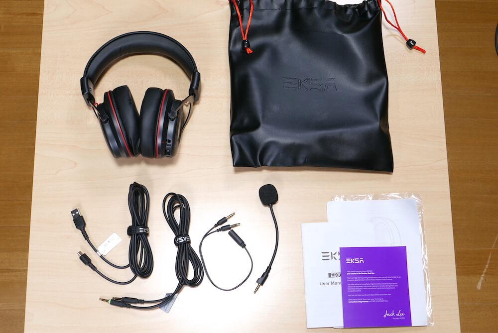 EKSA E900 Proの外観と付属品