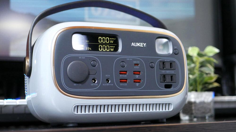 AUKEY PowerStudio レビュー:見た目がオシャレなだけじゃない!性能までこだわり抜かれたポータブル電源