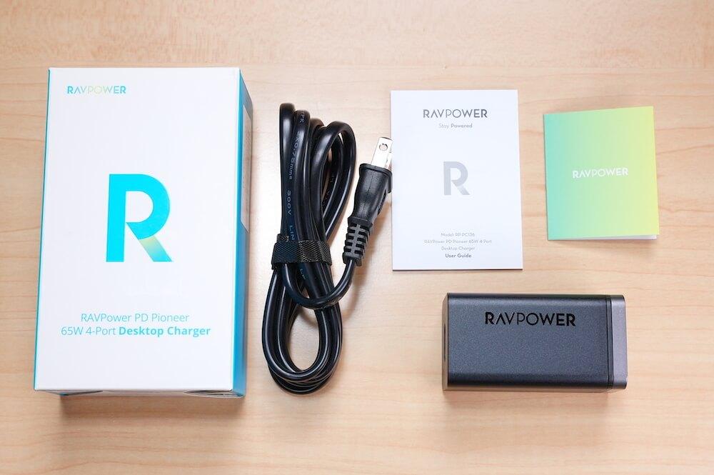 RAVPower RP-PC136の付属品