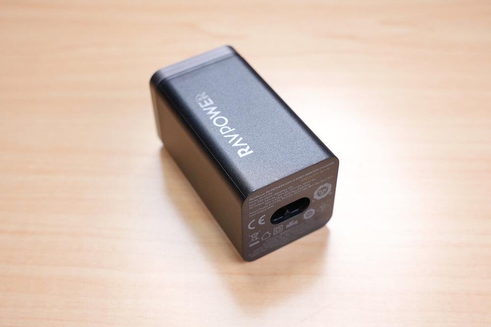 RAVPower RP-PC136は放熱性にも優れている