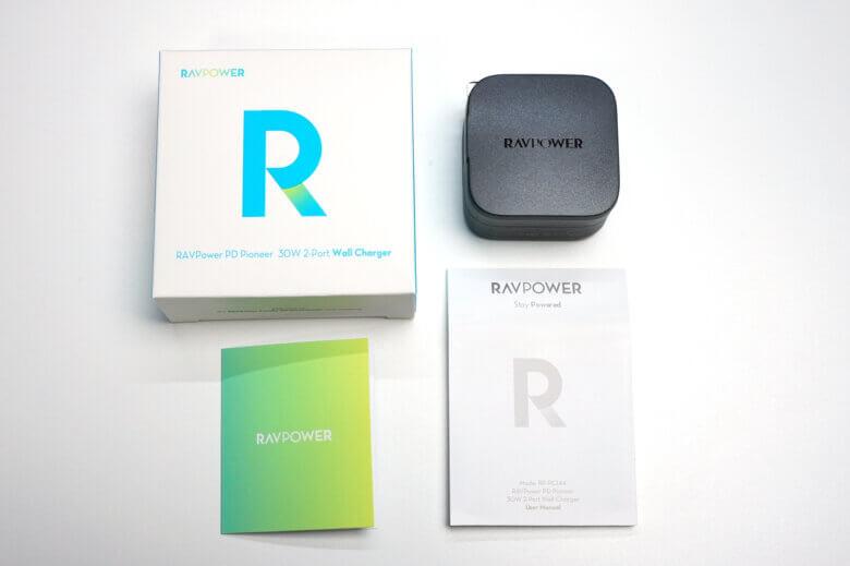 RAVPower RP-PC144の外観と付属品